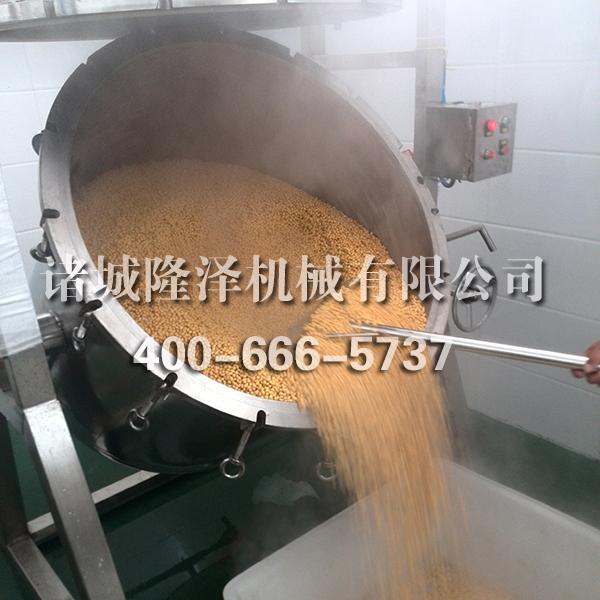 PLC纳豆蒸煮锅