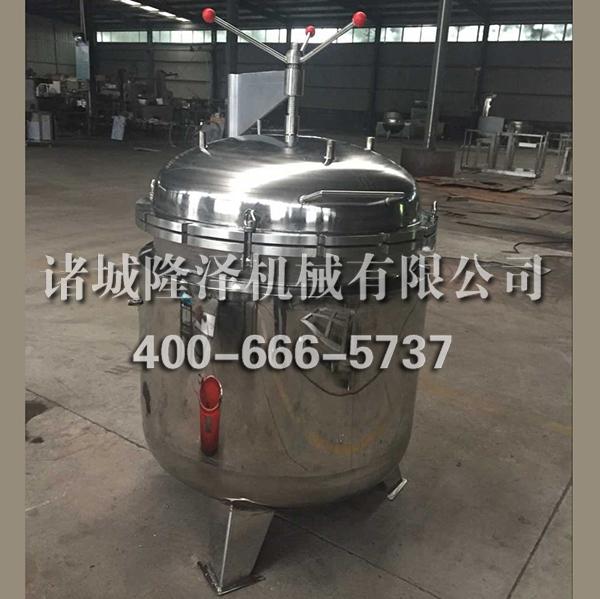 黄豆高压蒸煮锅